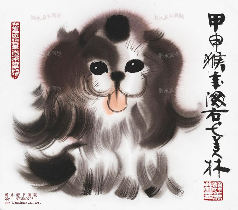 韩美林的动物画多在艺术市场出售